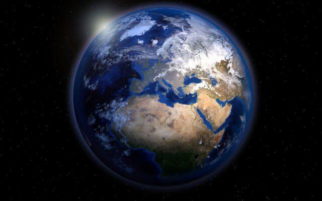 europe, africa, earth